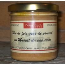 BLOC DE FOIE GRAS DE CANARD AU MUSCAT DU CAP CORSE 125g
